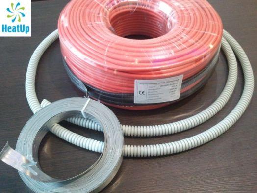 Нагревательный электрический кабель HeatUp 1000 Вт (длина 50 м)